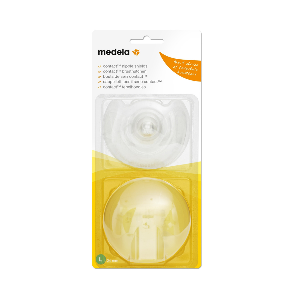 Medela Contact Nipple Shield 2 Pack - Large 56134