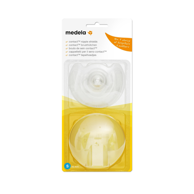 Medela Contact Nipple Shields 2 Pack Small 56147