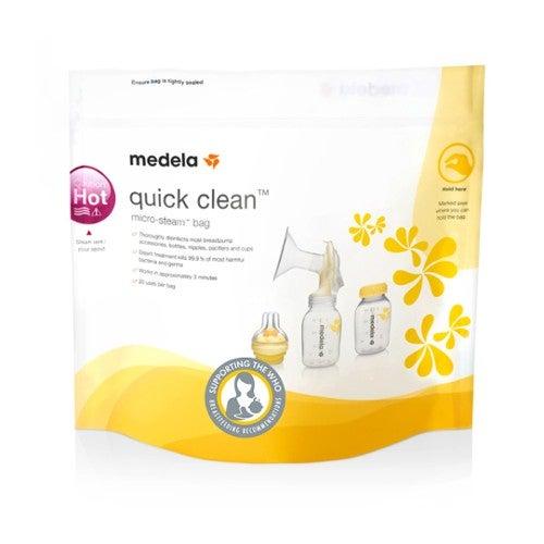 Medela Micro Steam Quick Clean Bag 5 Pack 705136