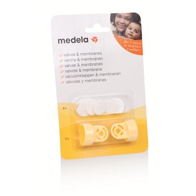 Medela Valve & Membrane Set - 2pack 44463