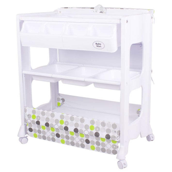 Milano Changer with Bath - Green Dot 728370