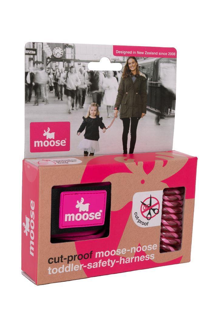 MooseBaby Moose Noose - Pink 806509
