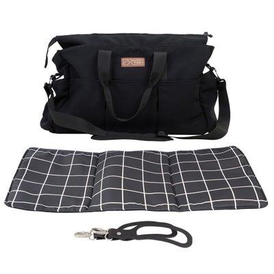 Mountain Buggy Double Satchel Bag - Grid 804683