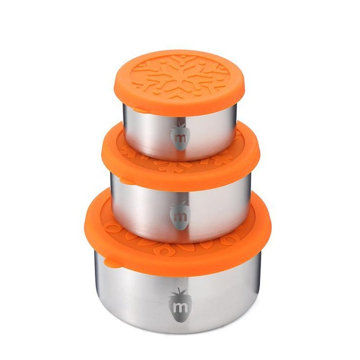 Munch 3pk Stainless Steel Container 8079640001