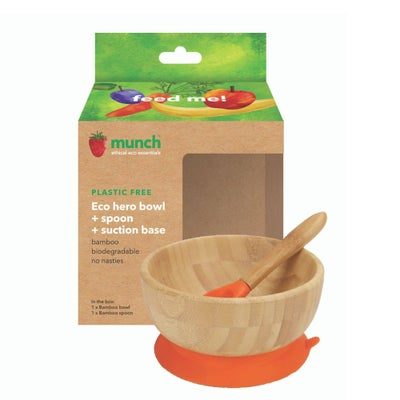 Munch Eco Hero Toddler Bowl 807666