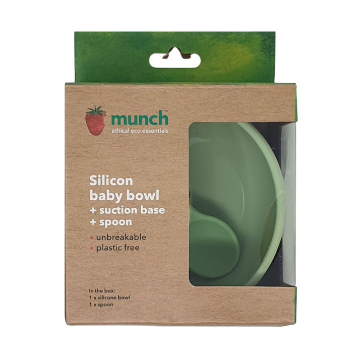 Munch Silicone Bowl and Spoon 808239001