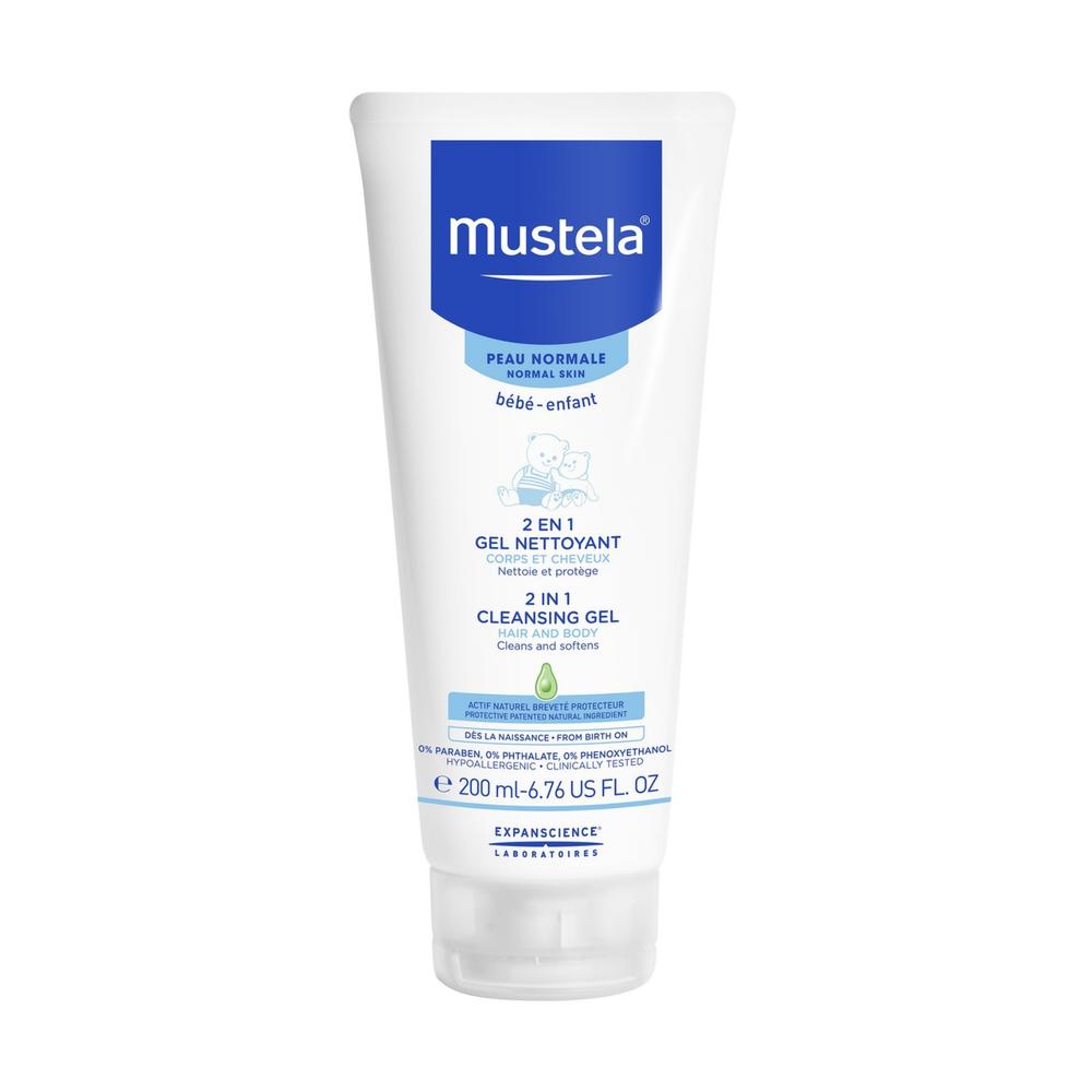 Mustela 2 in 1 Cleansing Gel 200ml 712053