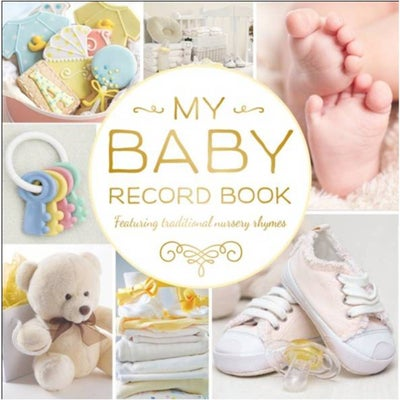 My Baby Record Book - Yellow 803375