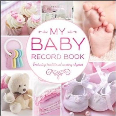 My Baby Record Book -Pink 803374