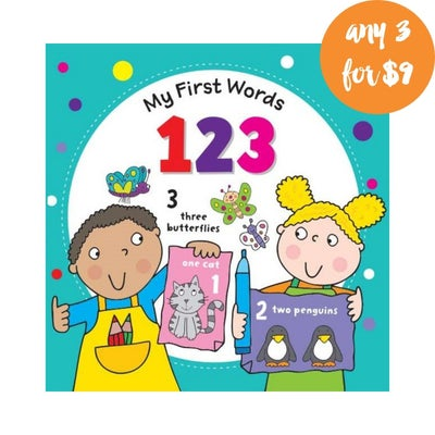 My First Words 123 Book 808293