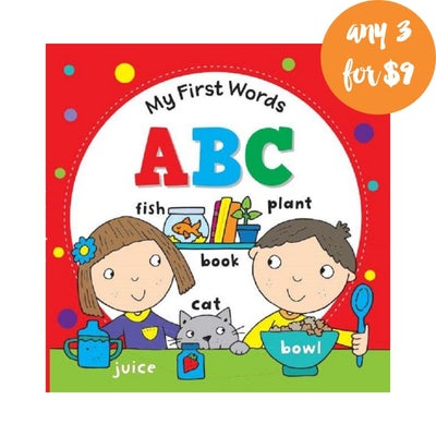 My First Words ABC Book 808292