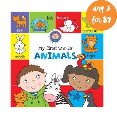 My First Words Animals Book 808294