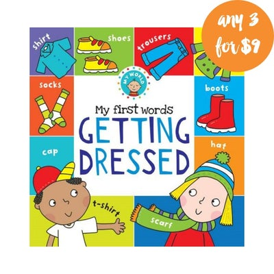 My First Words Getting Dressed Book 808297