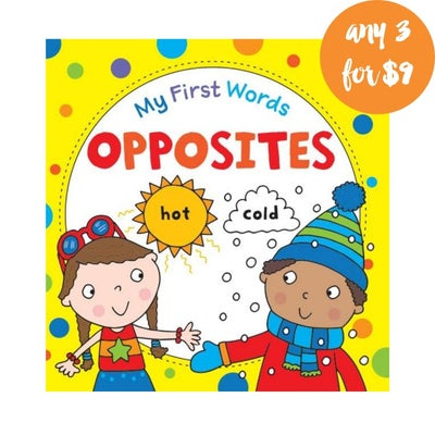My First Words Opposites Book 808296