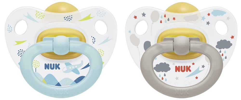 NUK Latex Soother size 2 - 2 Pack 724336