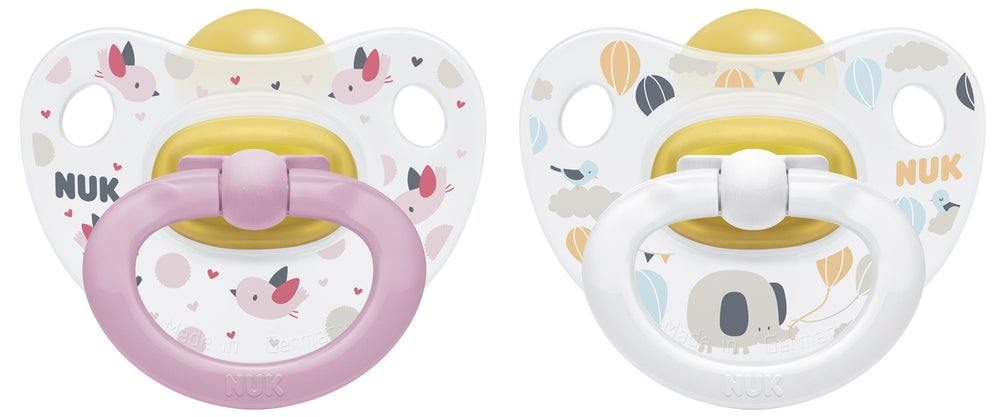 NUK Latex Soother size 3 - 2pk 724337