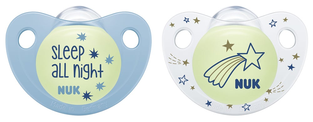 NUK Night & Day Soothers Size2 2PK 802766