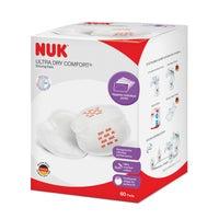 NUK Ultra Dry Comfort Breast Pads 60pk 804351