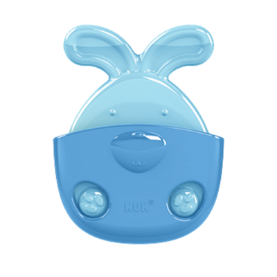NUK Water Filled Cooling Teether with Holder (Stage 2) - Rabbit