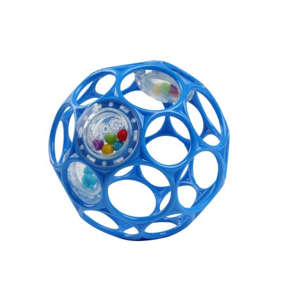 """OBall 4""""Rattle - Blue 808078"""