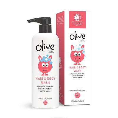 Olive Baby Hair & Body Wash 200ml 807704