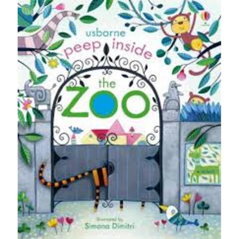 Peep Inside The Zoo Book 802194