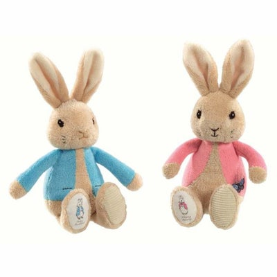 Peter Rabbit/ Flopsy Bunny Silky Rattle - Assorted 805544