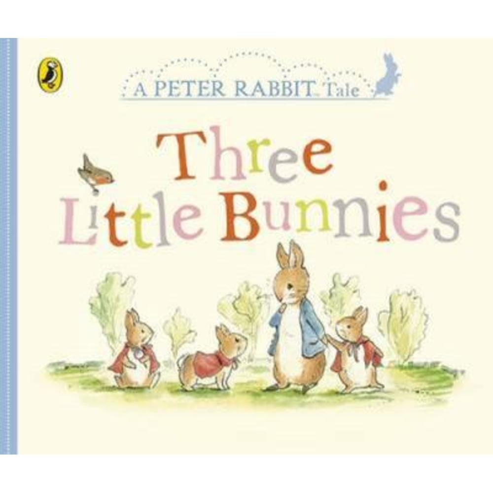 Peter Rabbit Three Little Bunnies Book 805542