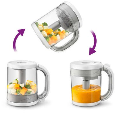 philips Avent 4 In 1 Healthy Babyfood Maker 805833
