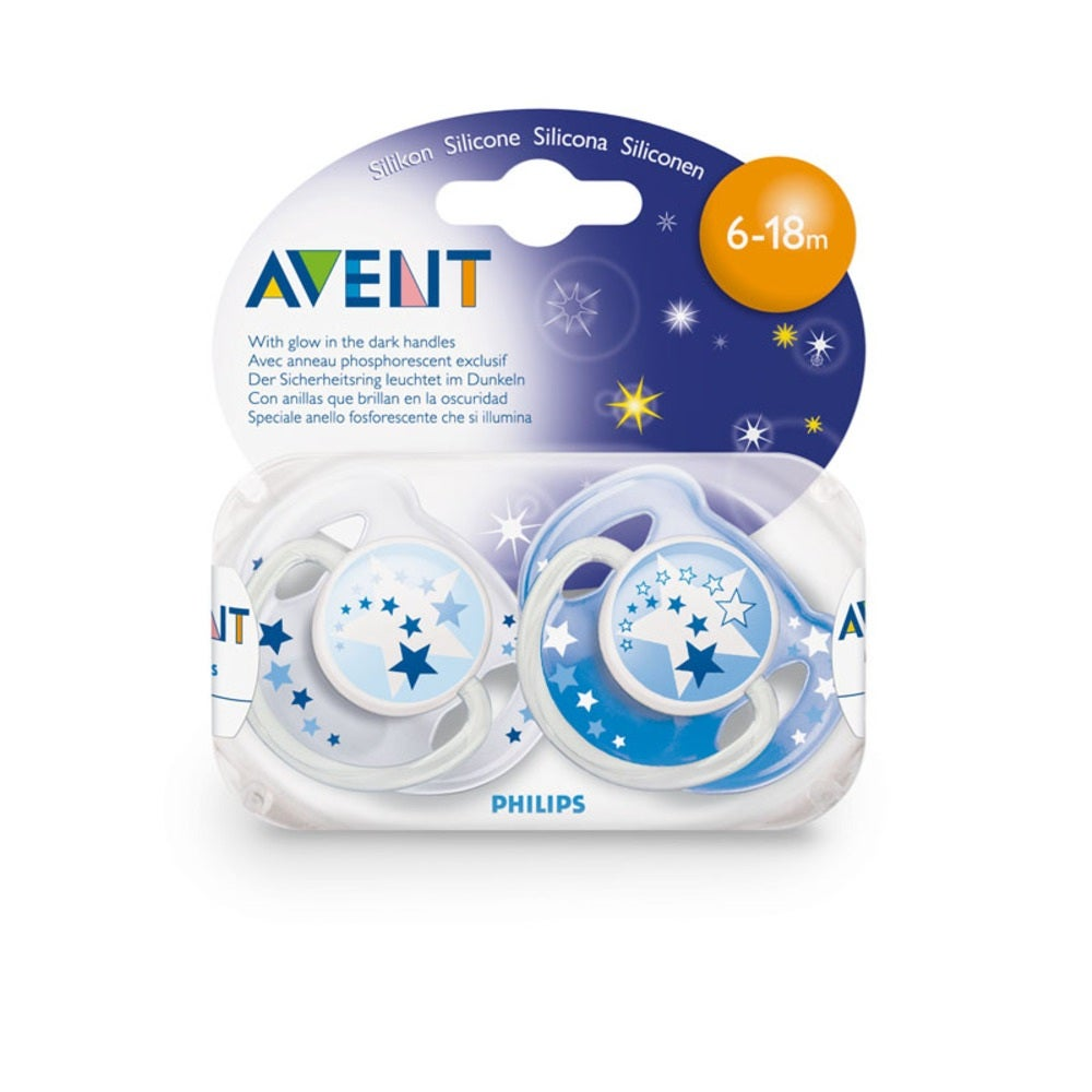 Philips AVENT Night Soother 6mth+ -2pk 14411