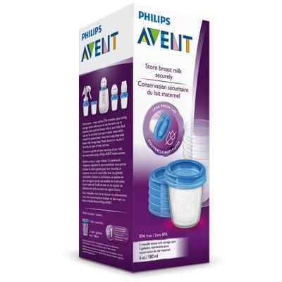 Philips AVENT Milk Storage Cups 180ml 5pk 803124