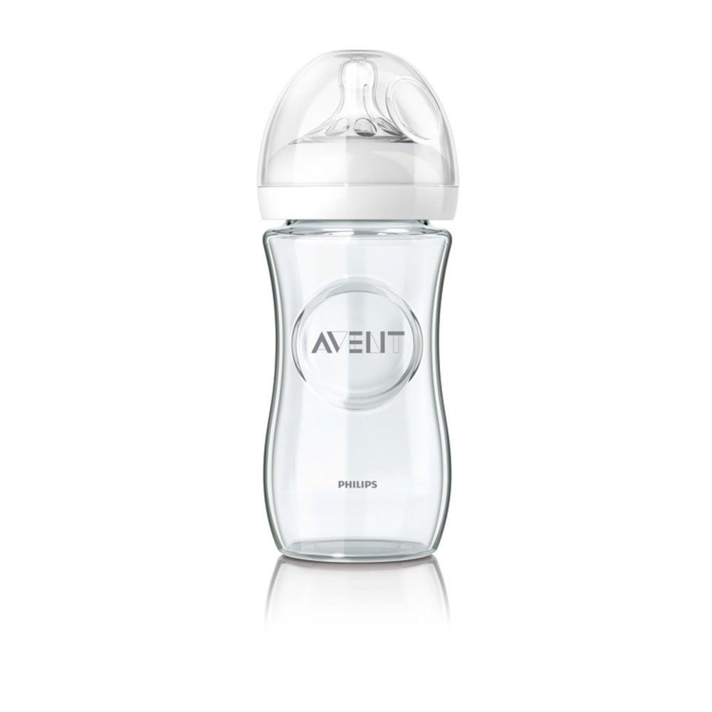 Philips AVENT Natural Glass Bottle 240ml 801439