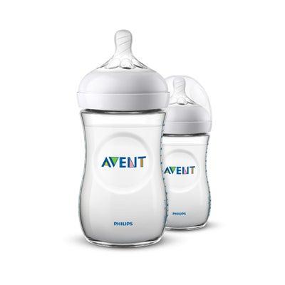 Philips AVENT Natural Bottle  260ml - 2 Pack 800417