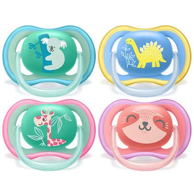 Philips Avent Ultra Air Deco Soother 2pk -18m+  807295