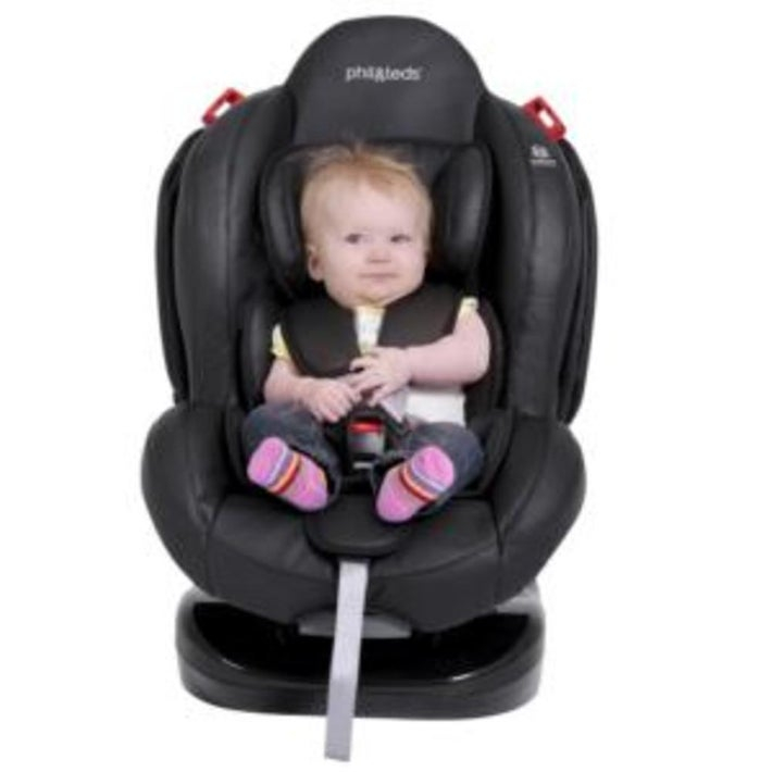 phil&teds evolution convertible carseat - Black 800616