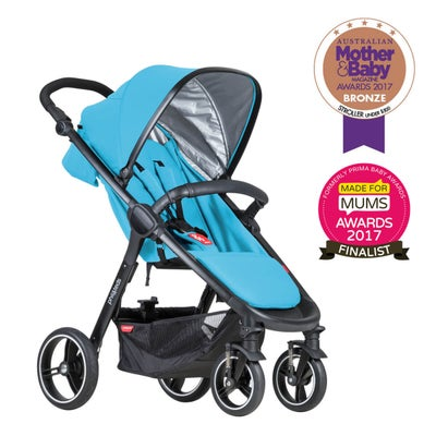 phil&teds smart buggy - Cyan 803954