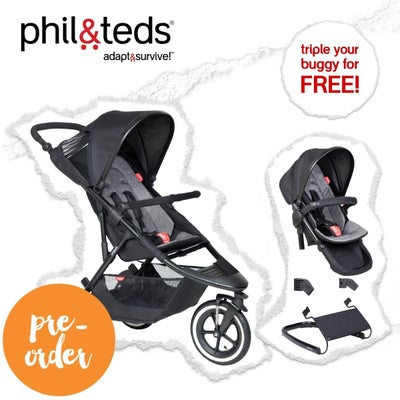phil&teds® sport™ V6 triple your buggy for FREE 807494