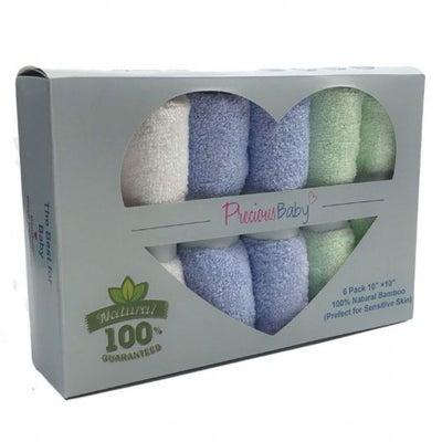 Precious Baby Face Cloths 6 pack 905716002