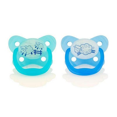Prevent Glow In The Dark Pacifier Stage1 Blue 806188
