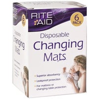 Rite Aid Disposable Changing Mats 721886