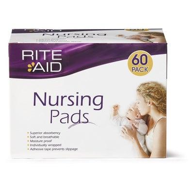 Rite Aid Nursing Pads 60's 801732