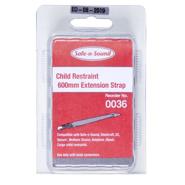 Safe-n-Sound Child Restraint 600mm Extension Strap 46768