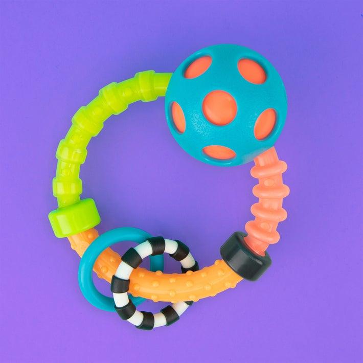 Sassy Bend & Flex Ring Rattle 807580
