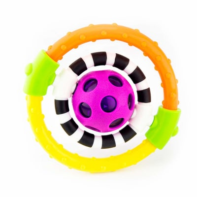 Sassy Spin & Chew Flexible Ring Rattle 807579