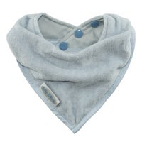 Silly Billyz Towel Bandana Bib - Dusty Blue 806515