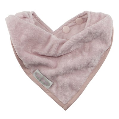 Silly Billyz Towel Bandana Bib - Antique Pink 806514