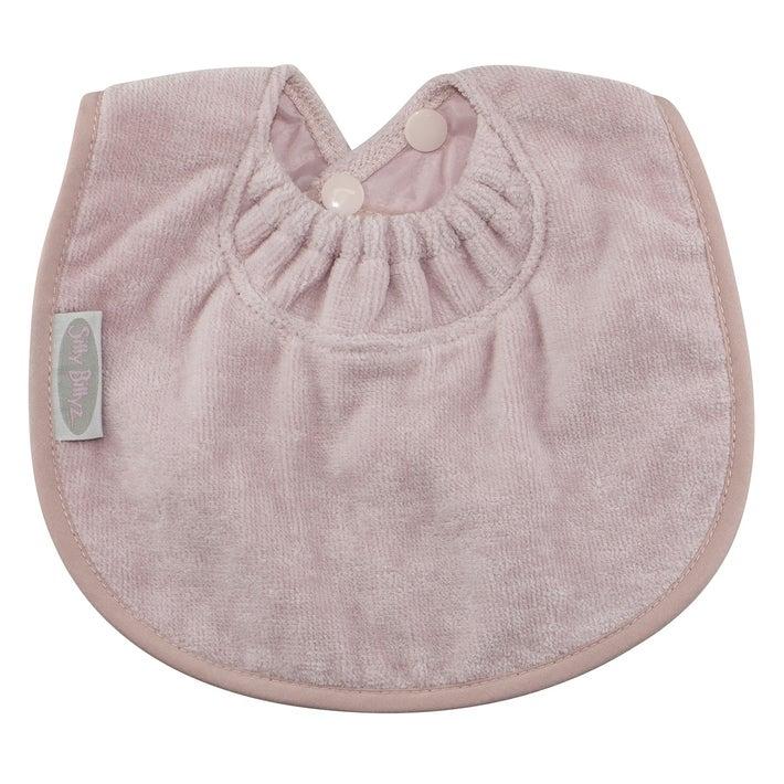 Silly Billyz Towel Biblet Bib - Antique Pink 806516