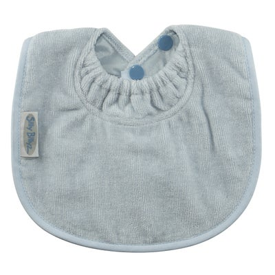 Silly Billyz Towel Biblet Bib - Dusty Blue 806517