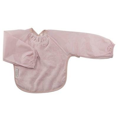 Silly Billyz Towel Long Sleeve Bib - Antique Pink 806518