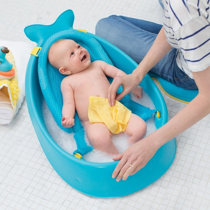 Skip Hop MOBY Smart Sling 3-Stage Baby Tub - Blue 804204